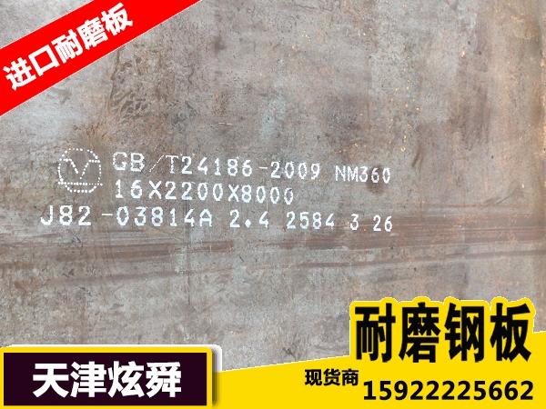 NM360耐磨板硬度是多少