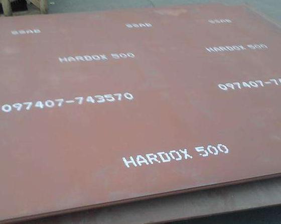 HARDOX500耐磨钢板焊接、开孔、弯曲等工艺分析